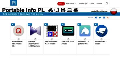 portable.info.pl - portable info pl - portable softwares