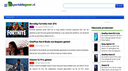 portablegear.nl - vergelijk prijzen en producten  telefoons, smartphones, tablets, camera´s ..