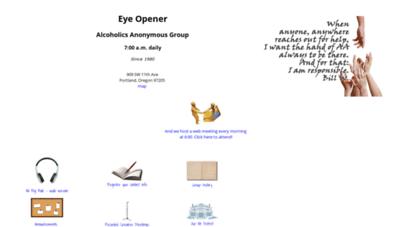 portlandeyeopener.com - the world famous eye opener