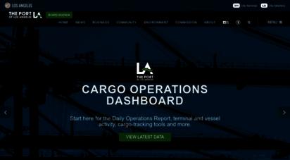 portoflosangeles.org - the port of los angeles: america´s port®  port of los angeles