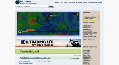 ports.com - world seaports catalogue, marine and seaports marketplace