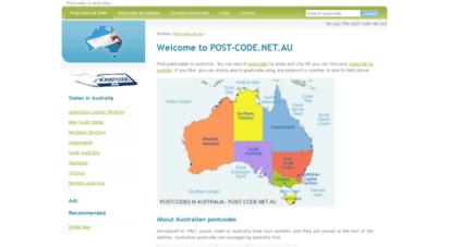 post-code.net.au