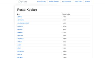 postakodu.mobi - ptt posta kodu sorgulama - türkiye il, ilçe, köy, mahallele kodları