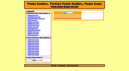 postakodu.web.tr - posta kodu, türkiye posta kodları, posta kodu öğrenme, il-ilçe-mahalle posta kodları