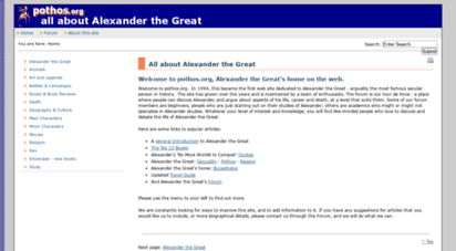 pothos.org - pothos.org - all about alexander the great