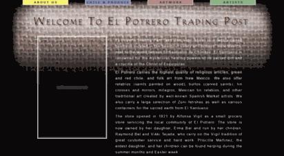 potrerotradingpost.com - welcome to el potrero trading post