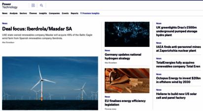power-technology.com - news on renewable, nuclear, fossil, technology, market data - power technology