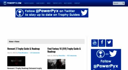 powerpyx.com - powerpyx.com - guides for trophies, achievements & collectibles