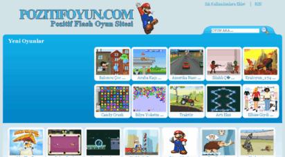 pozitifoyun.com - oyun, flash oyun, kız oyunları, pepe oyunları, araba oyunları, spor oyunları ve daha birçok oyun pozitifoyun.com sitemizde