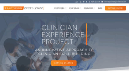practicingexcellence.com - practicing excellence  an innovative approach to clinician skill-building