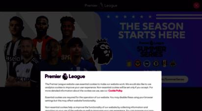 premierleague.com - premier league football news, fixtures, scores & results