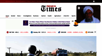premiumtimesng.com - premium times - nigeria´s leading online newspaper, delivering breaking news and deep investigative reports from nigeria