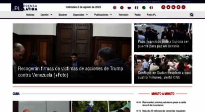 prensa-latina.cu - prensa latina - agencia latinoamericana de noticias