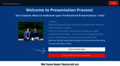 presentation-process.com - presentation process  creative presentations powerpoint diagrams