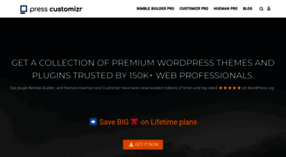 presscustomizr.com - press customizr  wordpress themes and plugins for pro