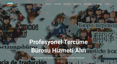 prestijceviri.com - prestij çeviri - yeminli tercüme bürosu