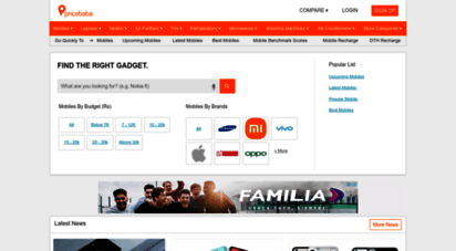 pricebaba.com - pricebaba  find the best prices for mobiles, laptops & other electronics in india - pricebaba.com