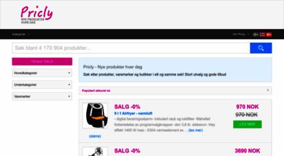 pricly.no - kjøp produkter billig på nett