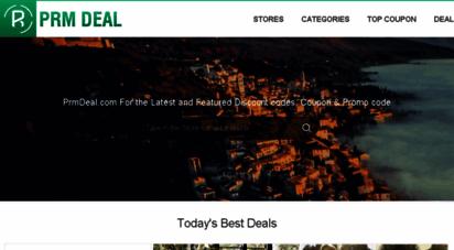 prmdeal.com - prmdeal:latest coupon codes, promo codes & deals for thousands of stores