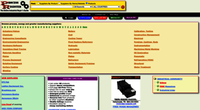 processregister.com - process, energy and greater manufacturing suppliers directory - processregister