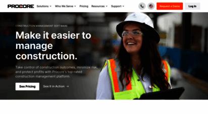 procore.com - procore construction management software