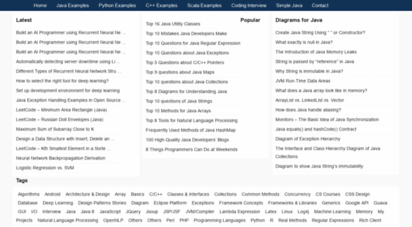 programcreek.com -