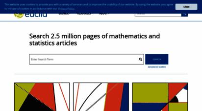 projecteuclid.org - project euclid mathematics and statistics online
