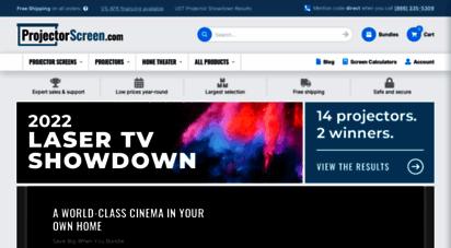 projectorscreen.com