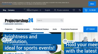 projectorshop24.co.uk