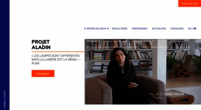 projetaladin.org - projet aladin  accueil