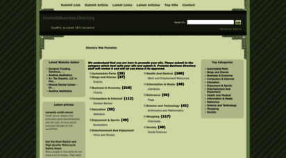 promotebusinessdirectory.com - directory web promotion