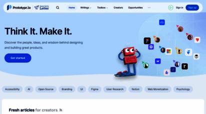 prototypr.io - prototypr - the latest design and prototyping tools for mobile and desktop app design.