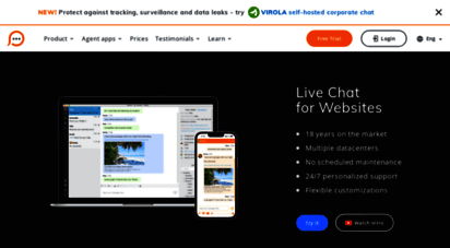 providesupport.com - live chat software - support on your website  provide support