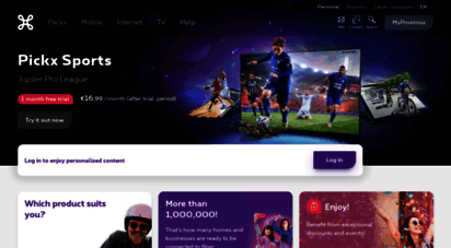 proximus.be - welcome to proximus - internet, mobile, phone and tv  proximus