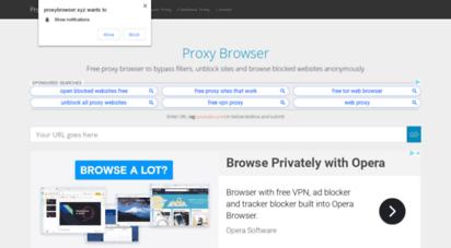proxybrowser.xyz - proxy browser  free web proxy to unblock sites