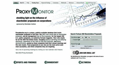 proxymonitor.org - proxy monitor