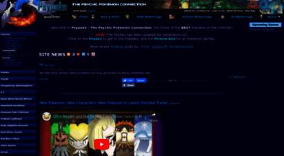 psypokes.com - psypoke - the psychic pokémon connection