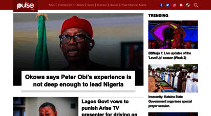 pulse.ng - breaking news, top stories & videos for you  pulse nigeria