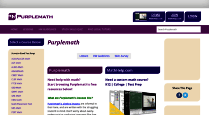 purplemath.com -