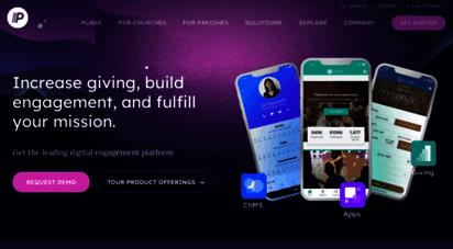 pushpay.com - digital giving solutions for church communities  pushpay