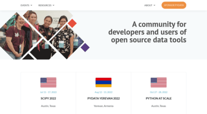 pydata.org - pydata