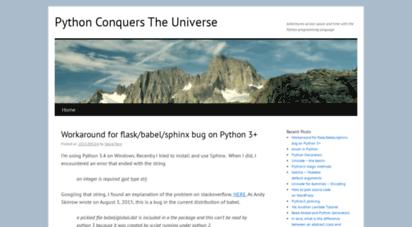 pythonconquerstheuniverse.wordpress.com