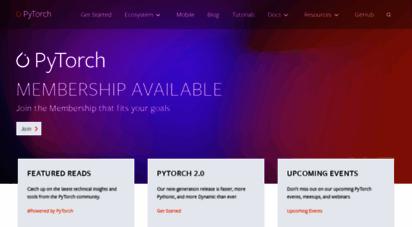 pytorch.org - pytorch