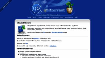 qbittorrent.org - qbittorrent official website