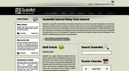 quakenet.org - quakenet irc network