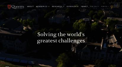queensu.ca - home  queen´s university