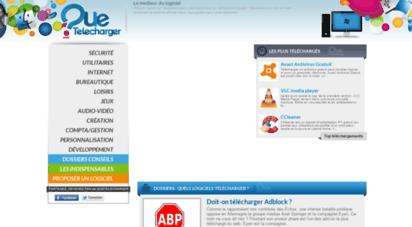 quetelecharger.com - tous vos logiciels à télécharger sans attendre - quetelecharger.com