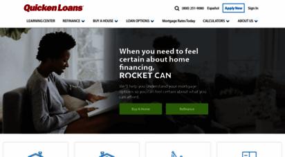 quickenloans.com - quicken loans  america´s largest mortgage lender