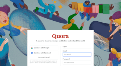 quora.com - quora - a place to share knowledge and better understand the world