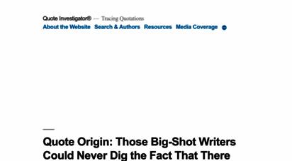 quoteinvestigator.com